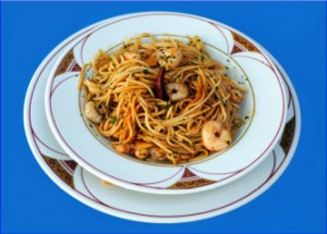 Espaguetis pilpil