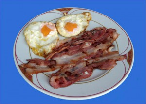 Huevos Bacon