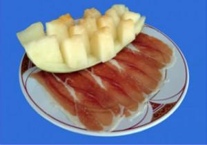 melon jamon